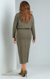 Платье OLLSY, модель 1494 оливковый