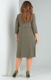 Платье OLLSY, модель 1502 оливка