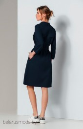Платье Olegran, модель 636  синий