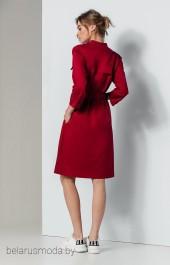 Платье Olegran, модель 636 темно-красный