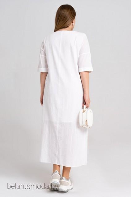 Платье 34380z белый Panda