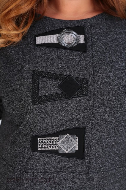 Платье 2013 серый SOVITA