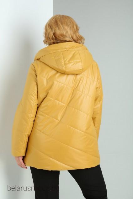 Куртка 2014 горчица Shetti