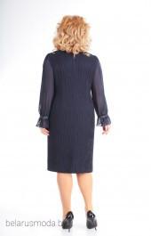Платье 453 темно-синий Slavia-elit