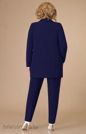 Костюм брючный 1581 темно-синий Svetlana Style