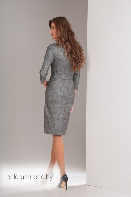 Платье 7440 серый Tvin