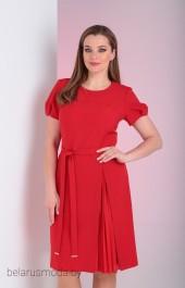 Платье 626 красный Vilena