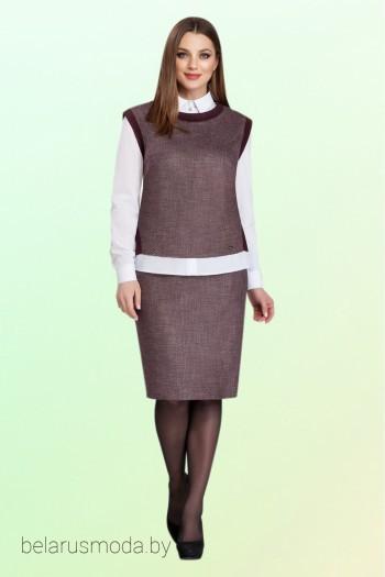 Костюм с юбкой - Vitol Fashion