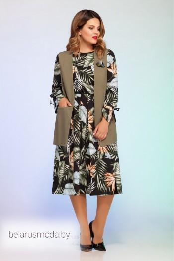 Комплект с платьем - Vitol Fashion