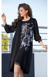 Платье 11683 черный Vittoria Queen